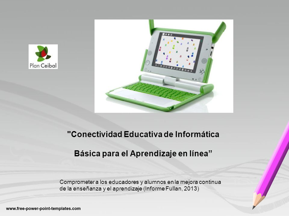 Conectividad Educativa de Informática Básica para el Aprendizaje en línea