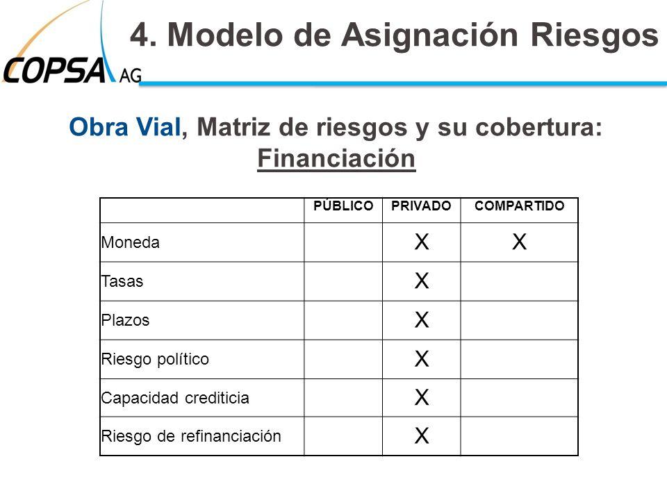 4. Modelo de Asignación Riesgos