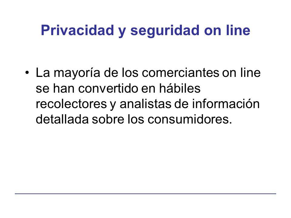 Privacidad y seguridad on line