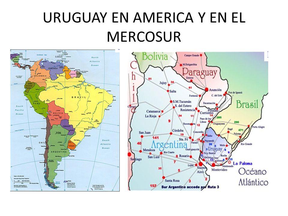 URUGUAY EN AMERICA Y EN EL MERCOSUR