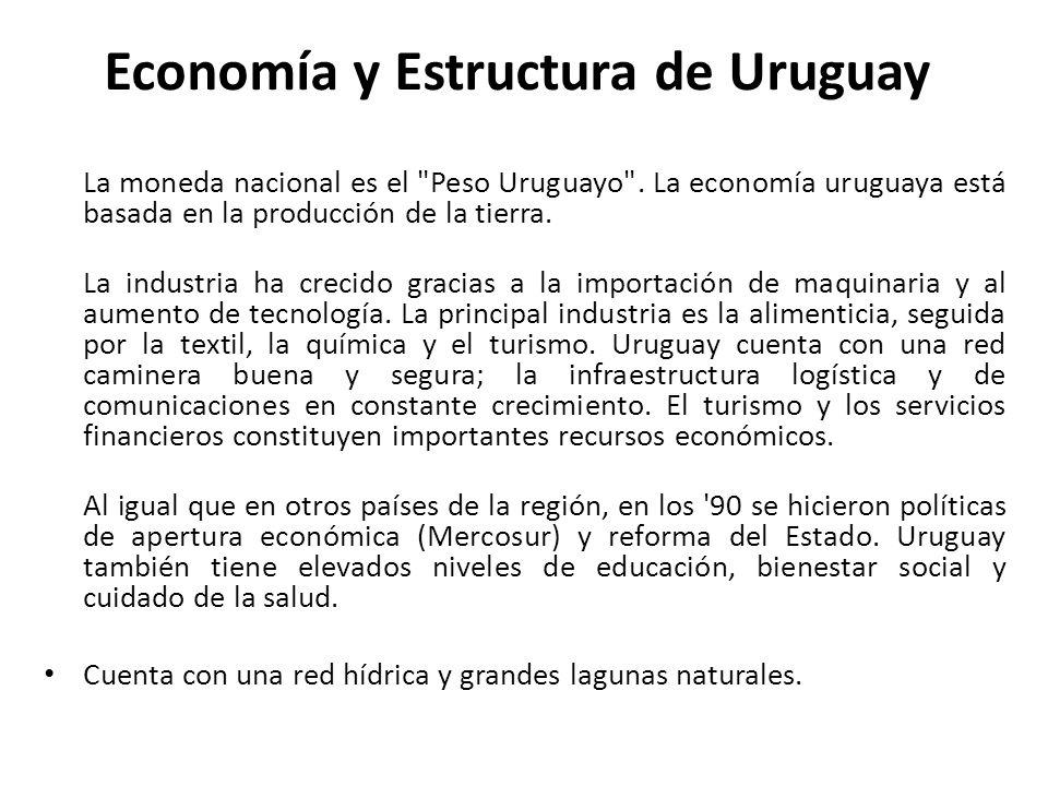 Economía y Estructura de Uruguay