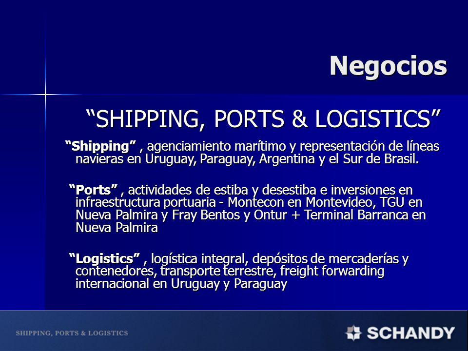 Negocios SHIPPING, PORTS & LOGISTICS