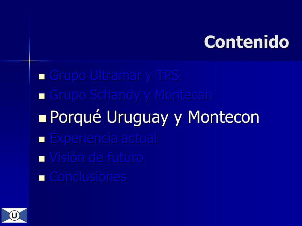 Porqué Uruguay y Montecon