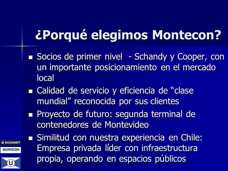 ¿Porqué elegimos Montecon