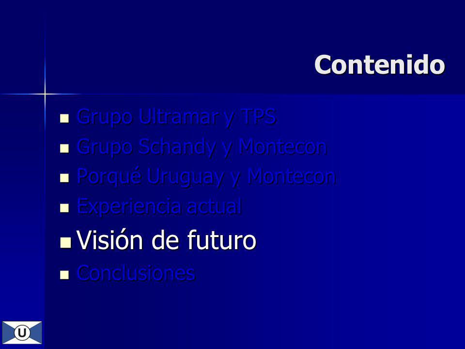 Contenido Visión de futuro Grupo Ultramar y TPS