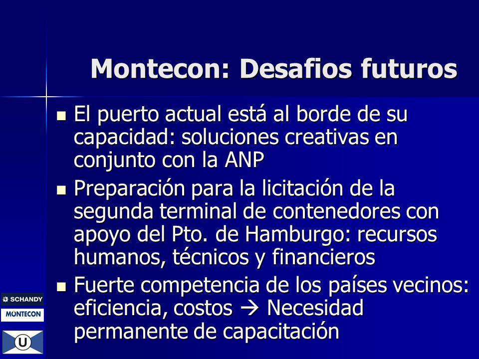 Montecon: Desafios futuros