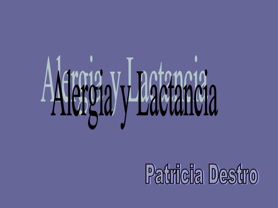 Alergia y Lactancia Patricia Destro