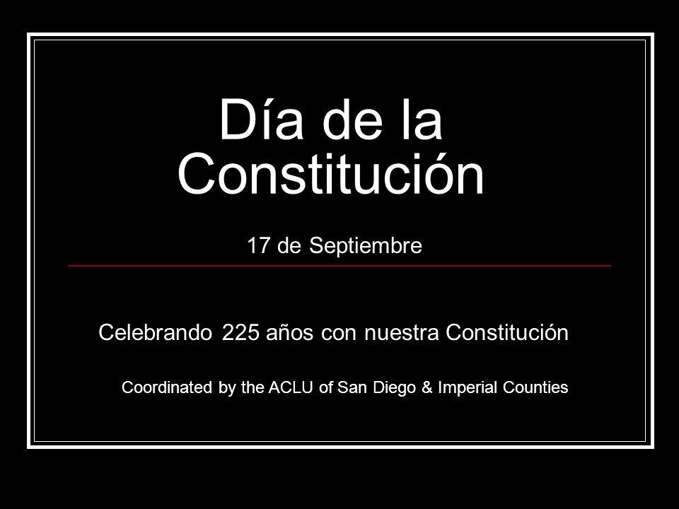 17 de Septiembre Celebrando 225 años con nuestra Constitución