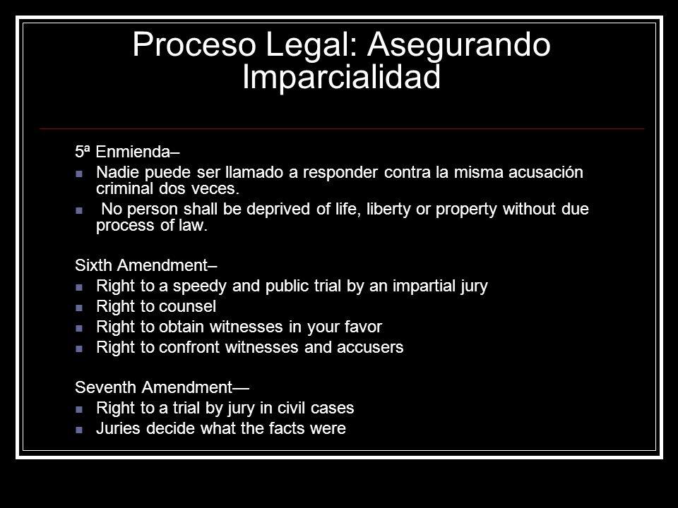 Proceso Legal: Asegurando Imparcialidad