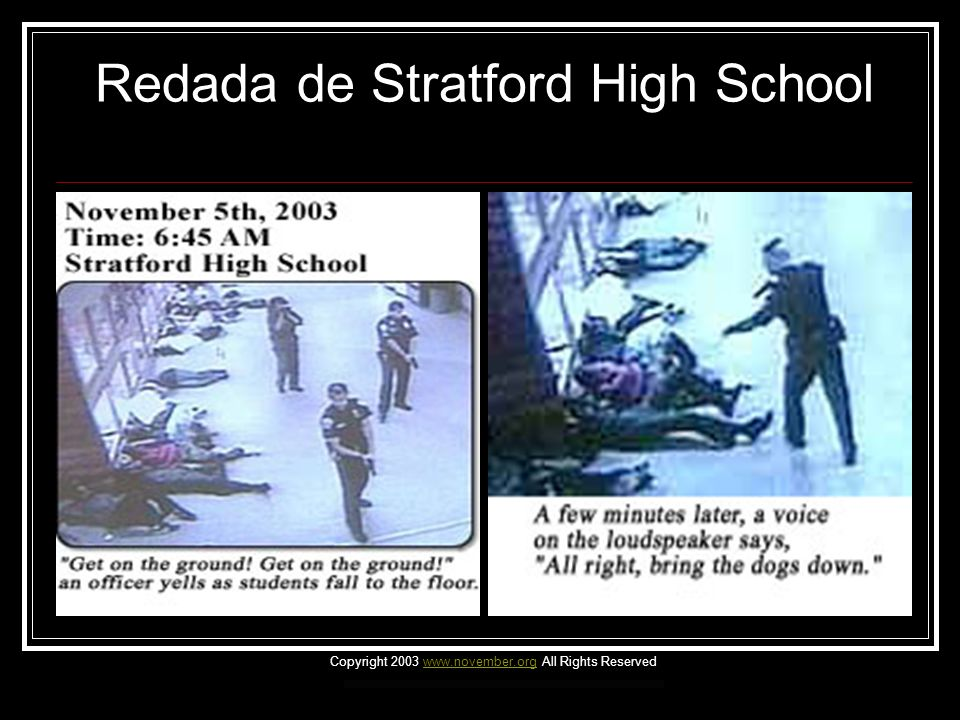 Redada de Stratford High School