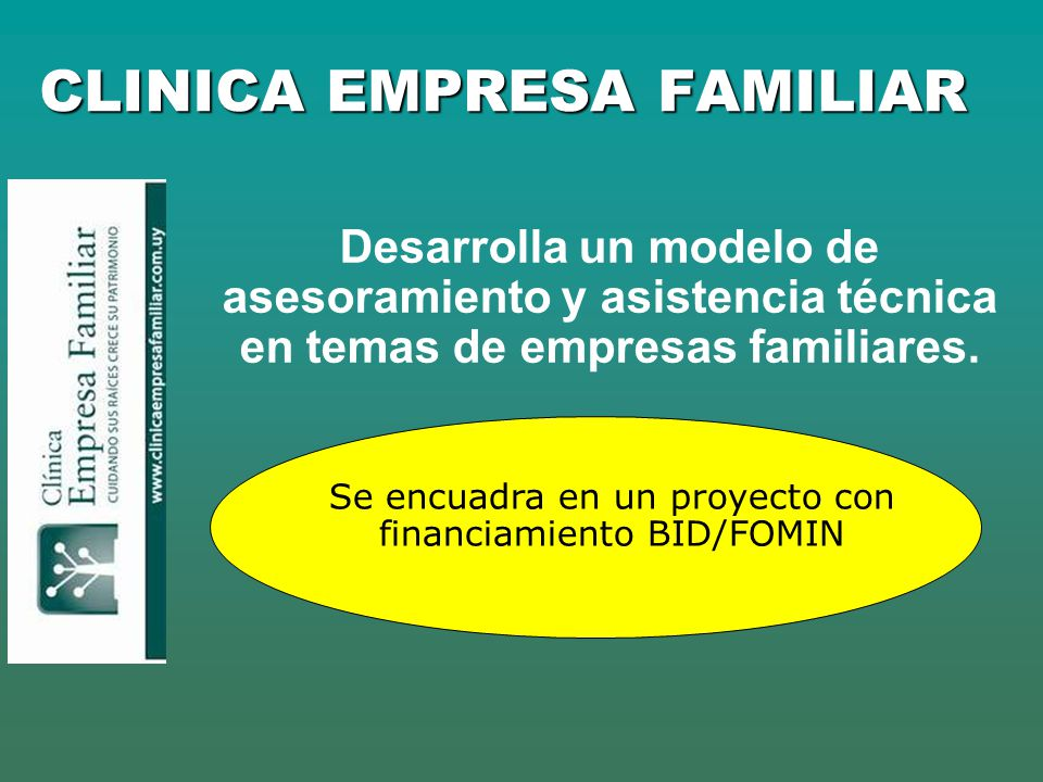CLINICA EMPRESA FAMILIAR