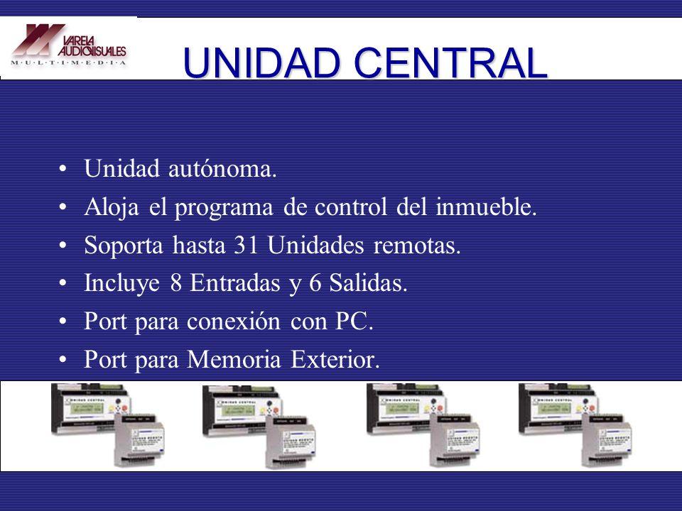 UNIDAD CENTRAL Unidad autónoma.