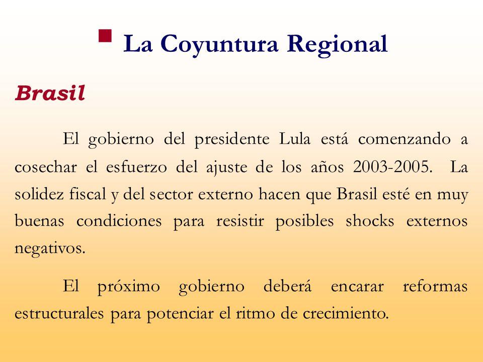 La Coyuntura Regional Brasil