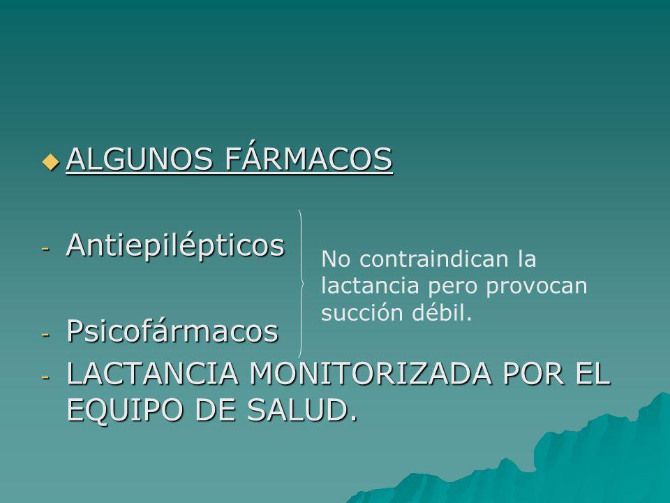 LACTANCIA MONITORIZADA POR EL EQUIPO DE SALUD.