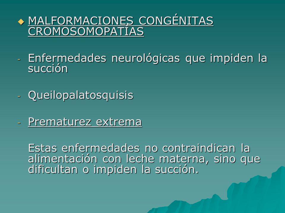 MALFORMACIONES CONGÉNITAS CROMOSOMOPATÍAS