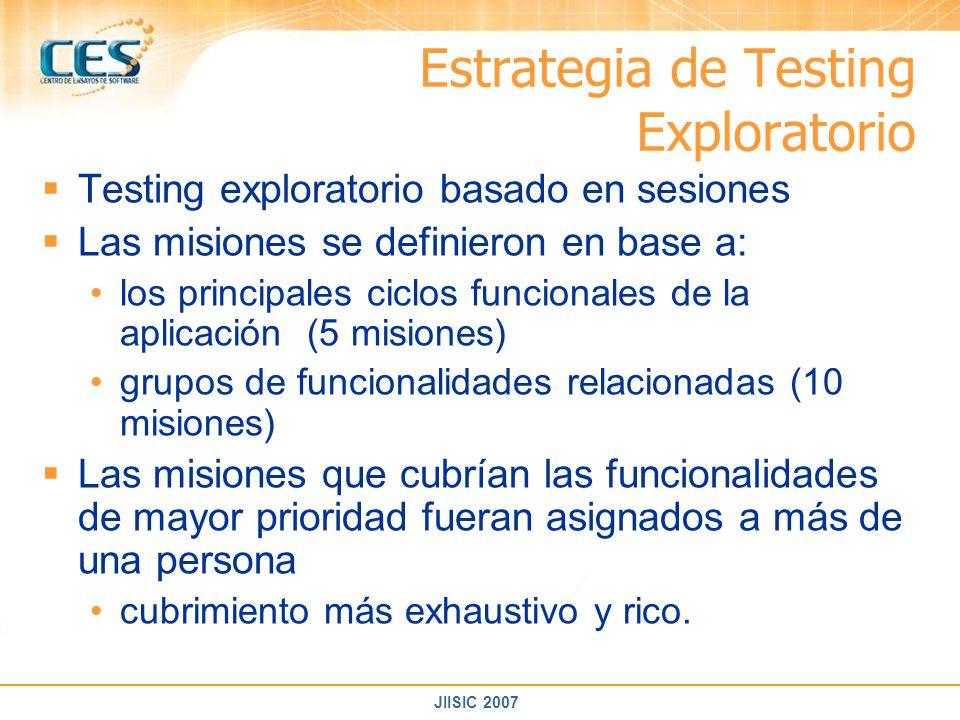 Estrategia de Testing Exploratorio