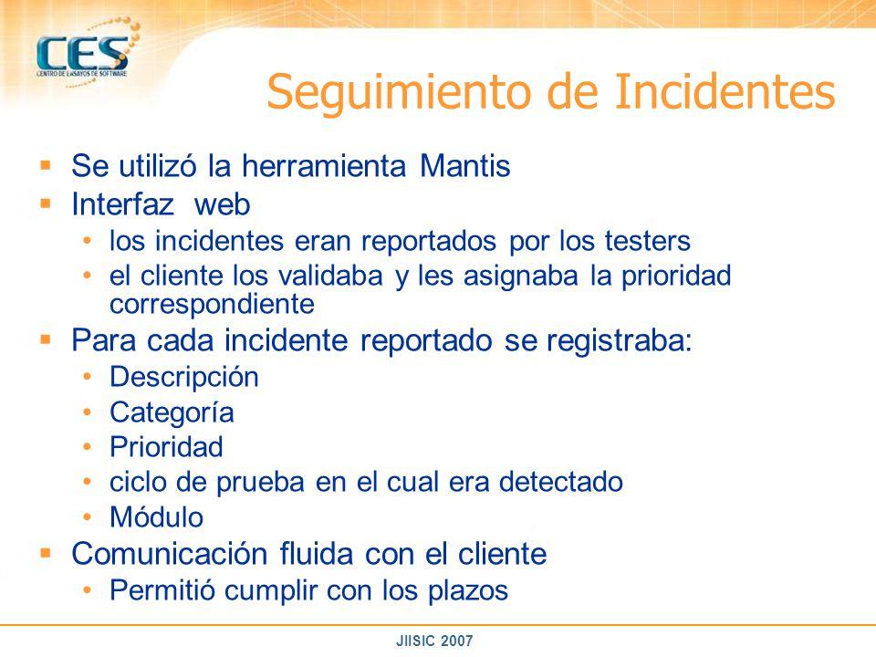 Seguimiento de Incidentes