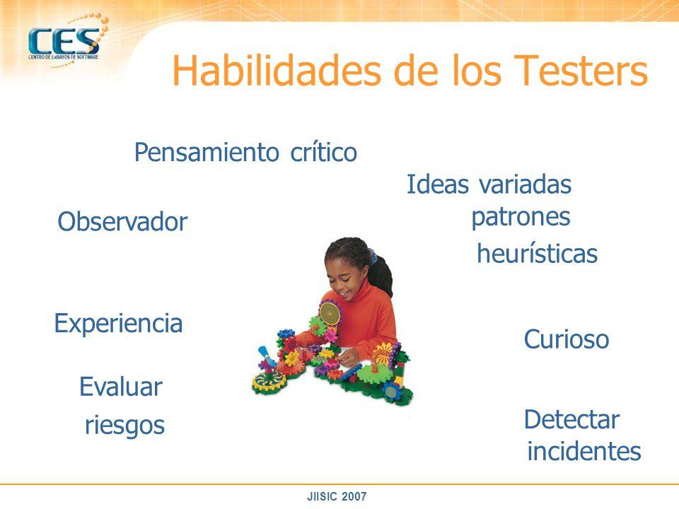 Habilidades de los Testers