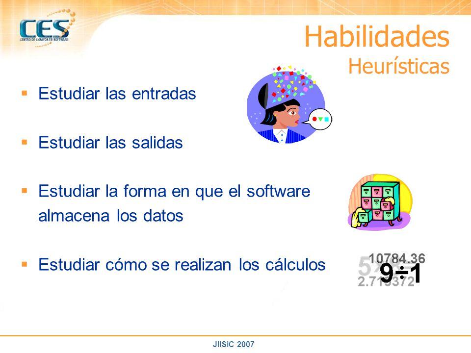 Habilidades Heurísticas