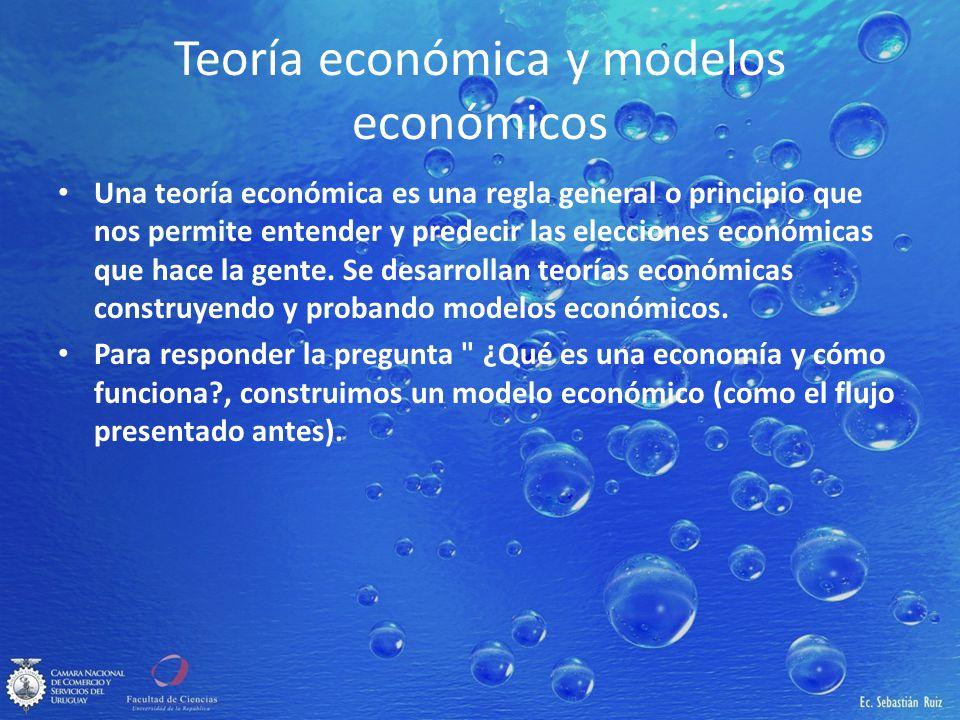 Teoría económica y modelos económicos