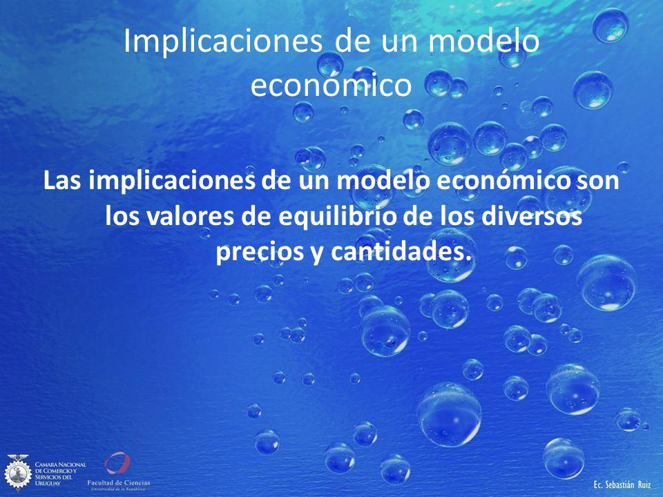 Implicaciones de un modelo económico