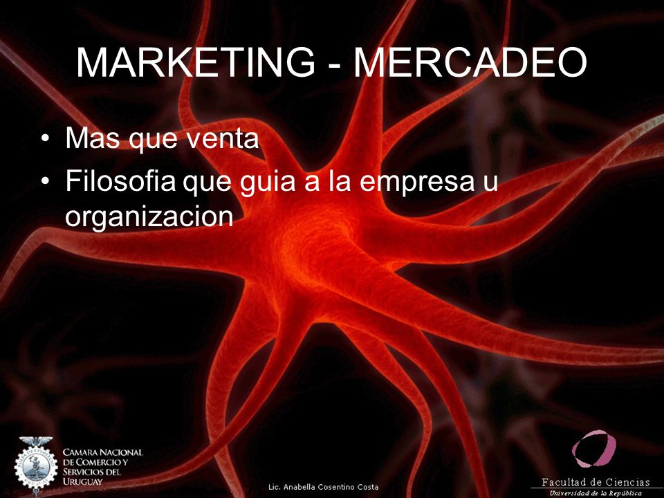 MARKETING - MERCADEO Mas que venta