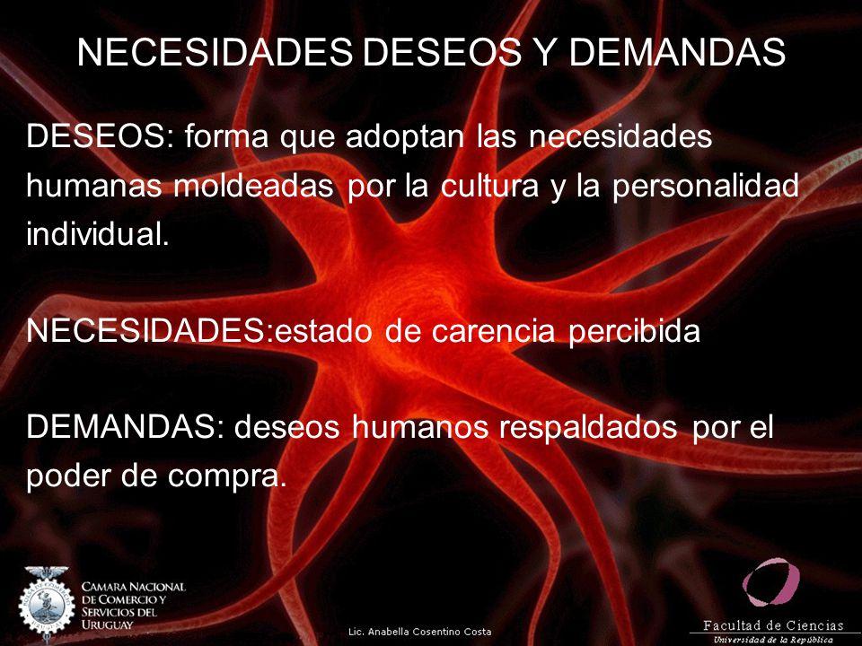 NECESIDADES DESEOS Y DEMANDAS