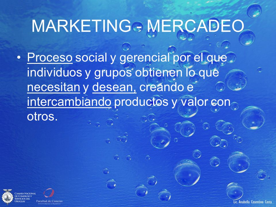 MARKETING - MERCADEO