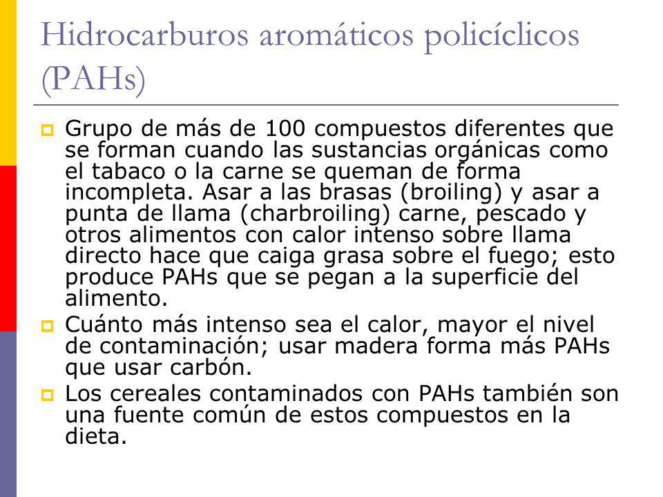 Hidrocarburos aromáticos policíclicos (PAHs)