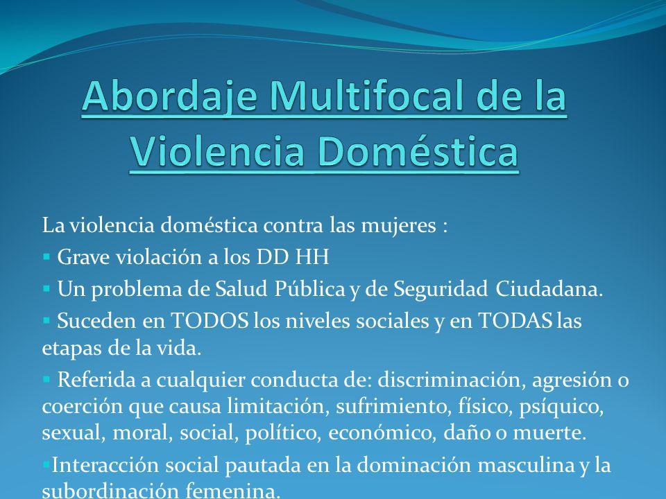Abordaje Multifocal de la Violencia Doméstica