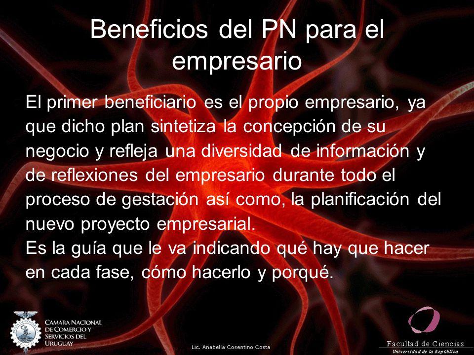 Beneficios del PN para el empresario