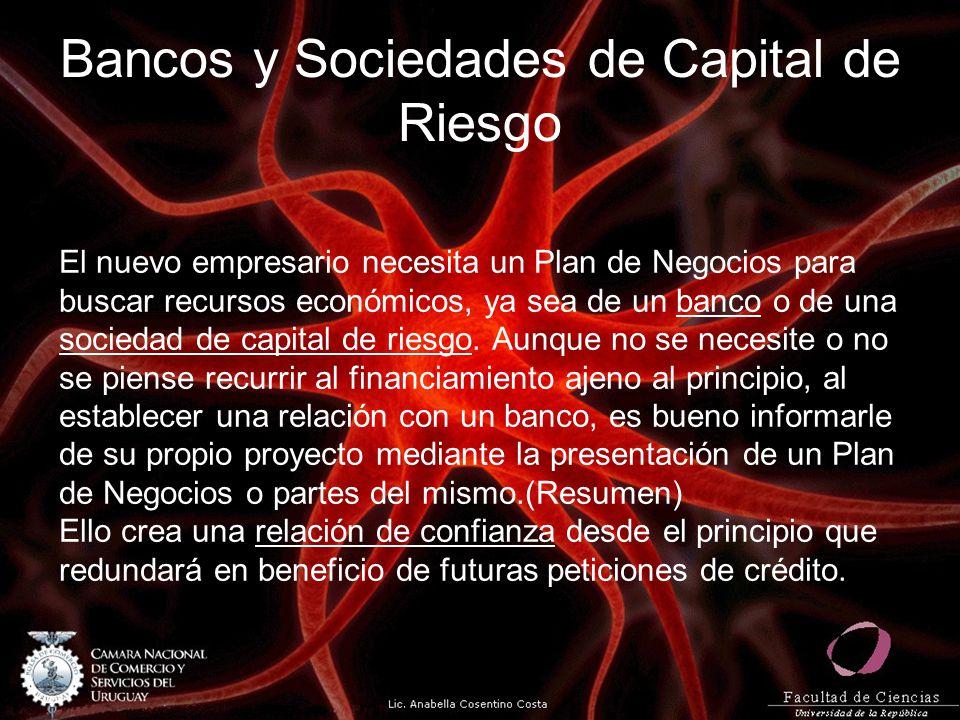 Bancos y Sociedades de Capital de Riesgo