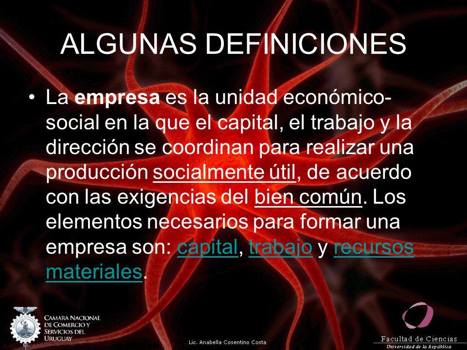 ALGUNAS DEFINICIONES