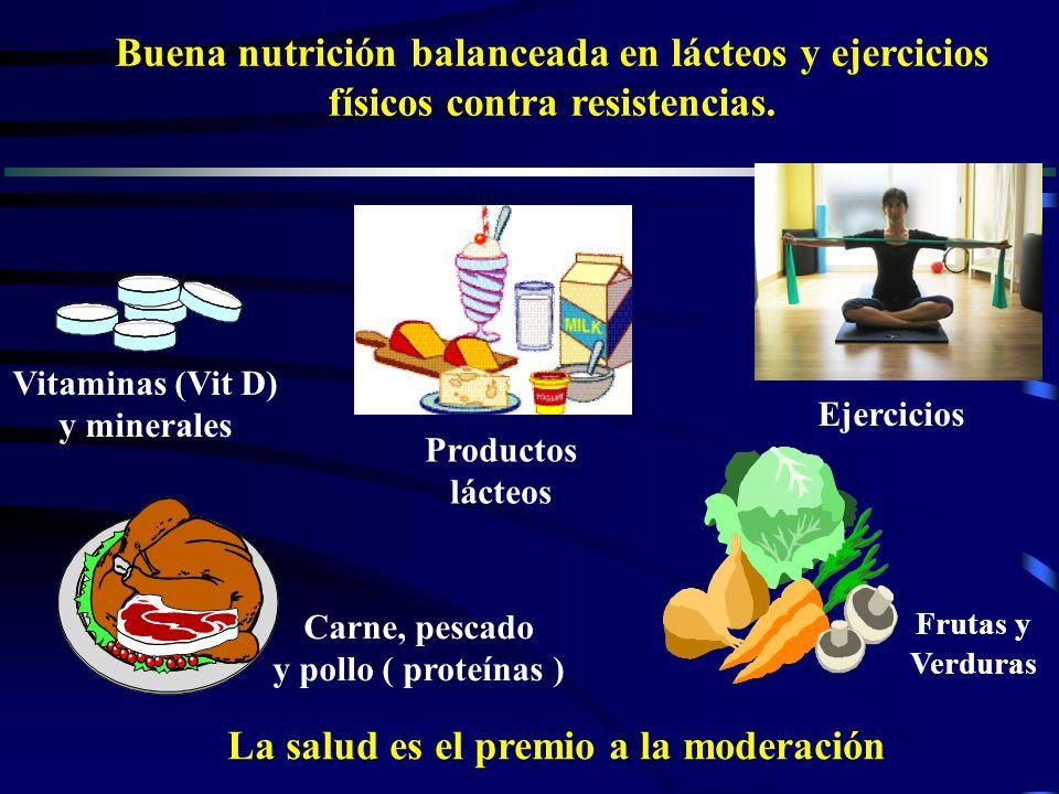 La salud es el premio a la moderación