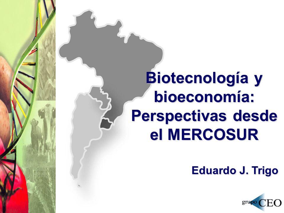 Biotecnología y bioeconomía: Perspectivas desde el MERCOSUR