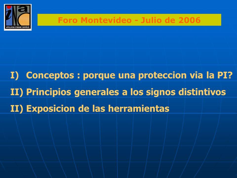Foro Montevideo - Julio de 2006
