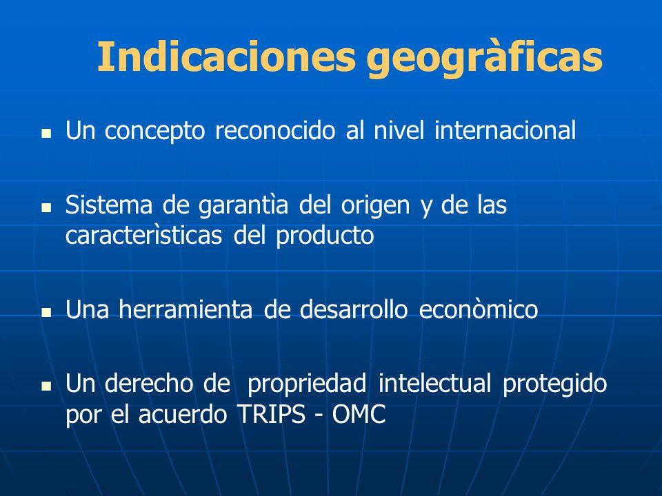 Indicaciones geogràficas
