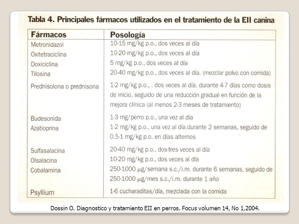Dossin O. Diagnostico y tratamiento EII en perros