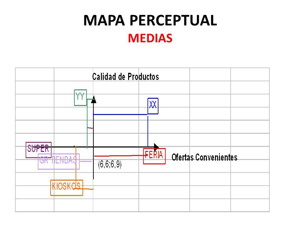 MAPA PERCEPTUAL MEDIAS