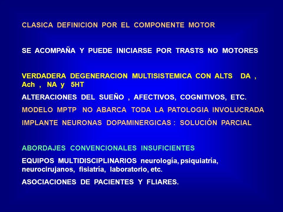 CLASICA DEFINICION POR EL COMPONENTE MOTOR