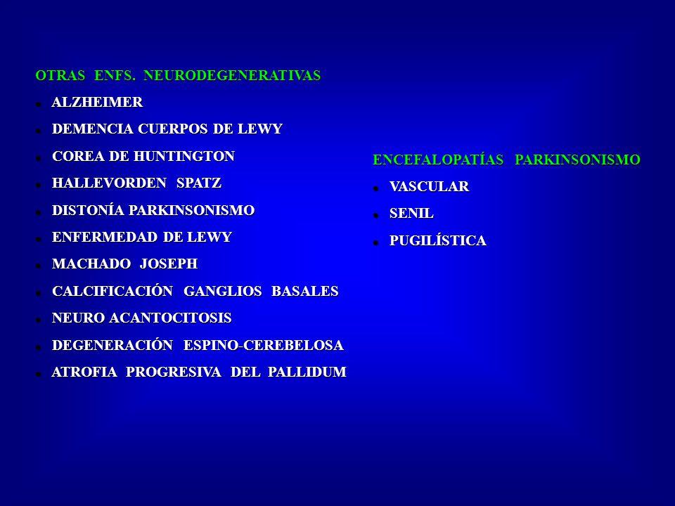 OTRAS ENFS. NEURODEGENERATIVAS