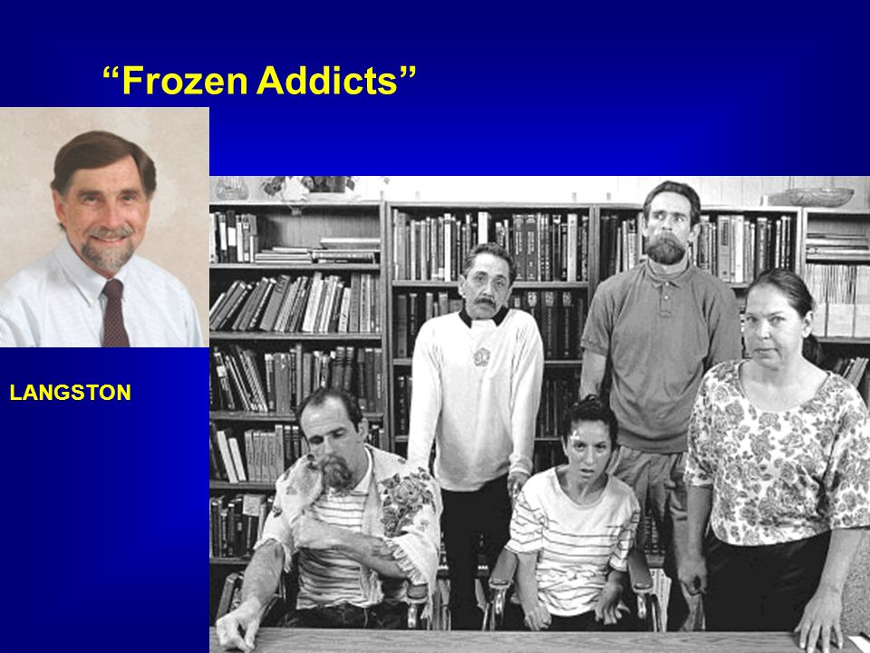 Frozen Addicts LANGSTON