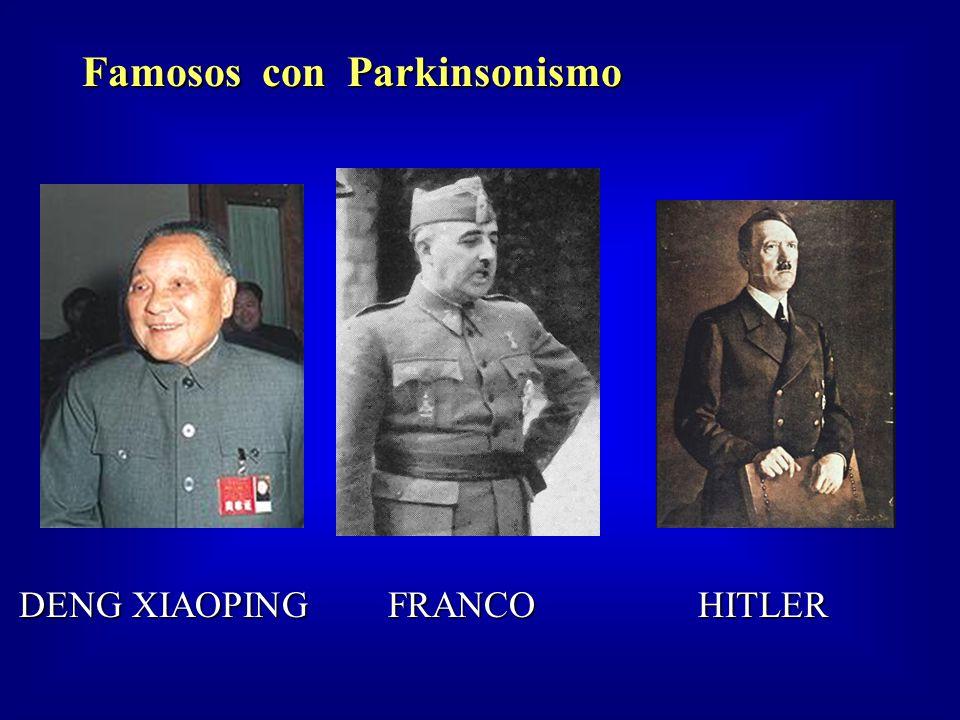 Famosos con Parkinsonismo