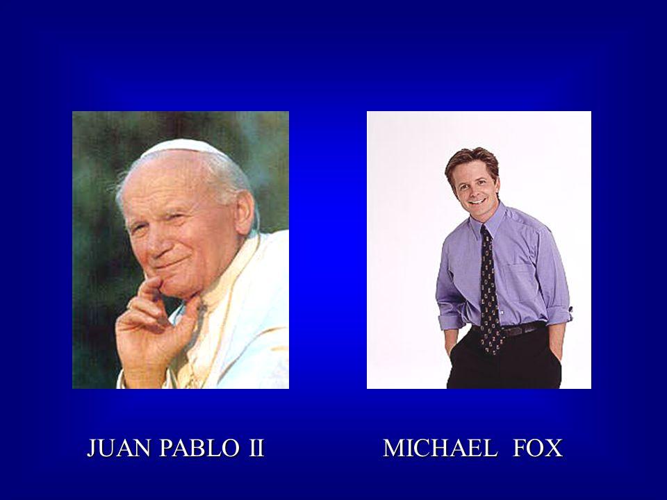 JUAN PABLO II MICHAEL FOX