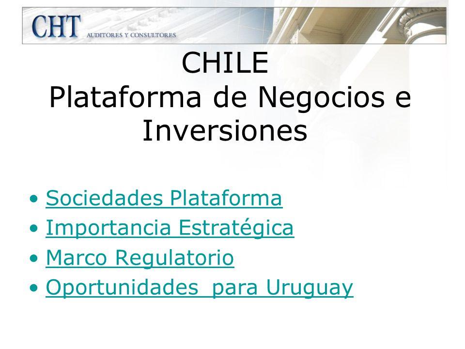 CHILE Plataforma de Negocios e Inversiones