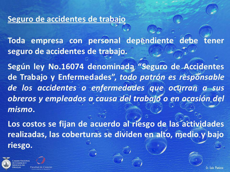 Seguro de accidentes de trabajo
