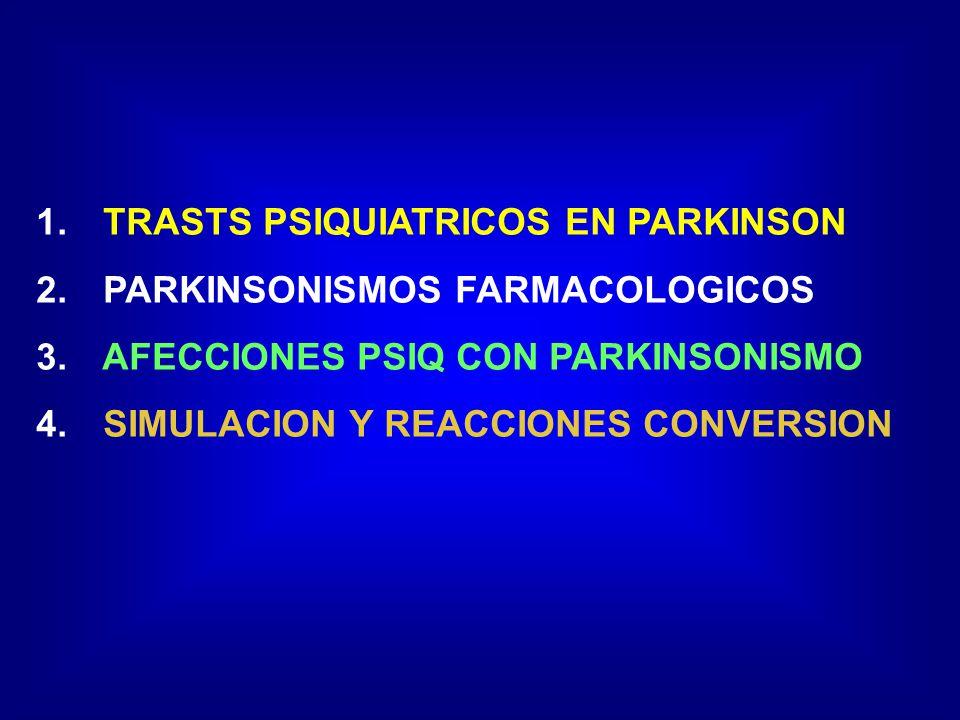 TRASTS PSIQUIATRICOS EN PARKINSON