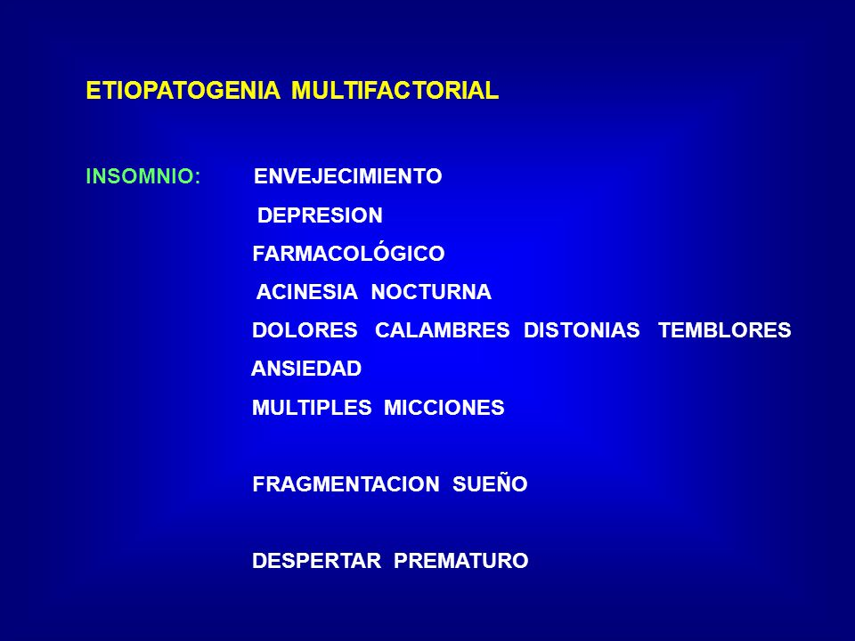 ETIOPATOGENIA MULTIFACTORIAL