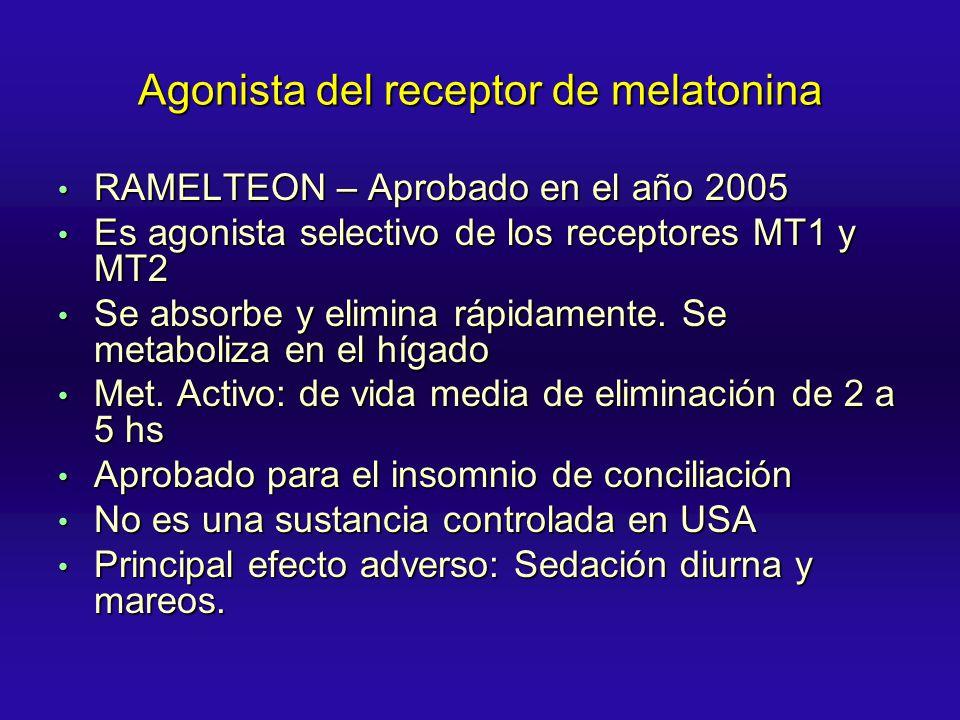 Agonista del receptor de melatonina