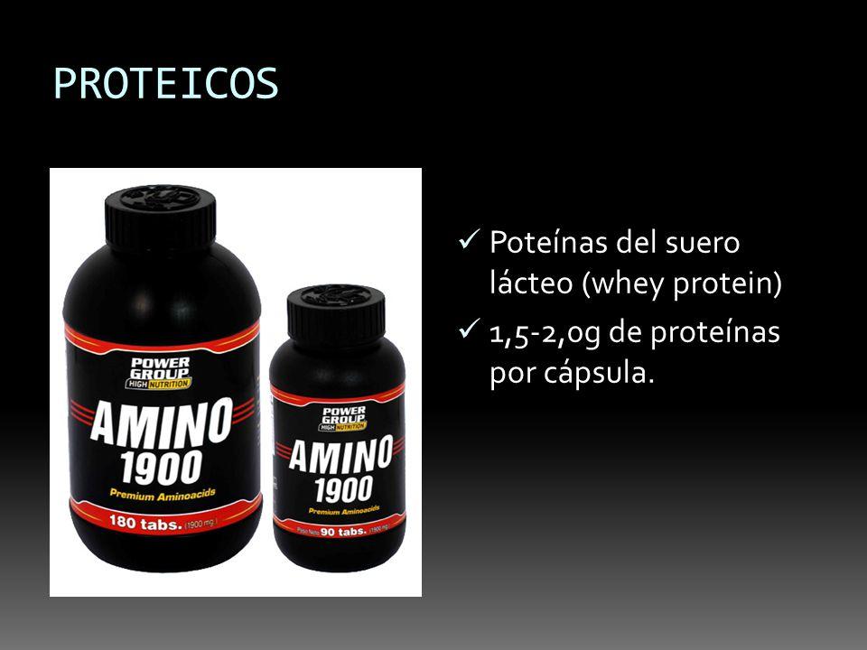 PROTEICOS Poteínas del suero lácteo (whey protein)